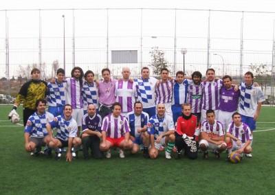2007 - Partido amistoso contra la Peña del RCD Español en Madrid