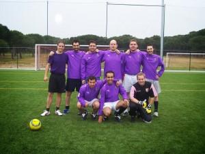 2007 - El equipo de la Peña en el Torneo de Simancas