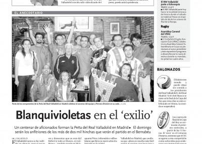 2008 - Reportaje  (El Día de Valladolid)