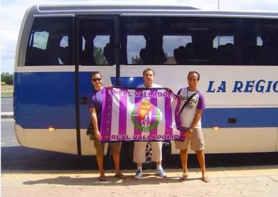 2008 - Camino del VIII Congreso Nacional de Peñas de Murcia