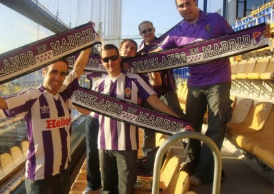 2009 - Peñistas en el Estadio El Madrigal de Villarreal