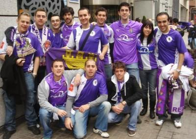 2009 - Frente al hotel de Valencia