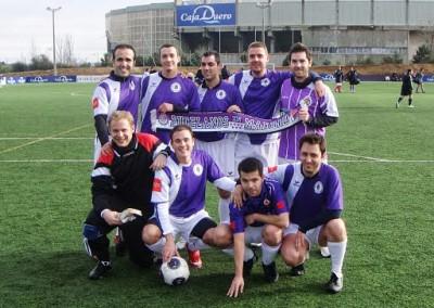 2009 - Gran papel en el Torneo Antonio Aragoneses en los Anexos de Zorrilla