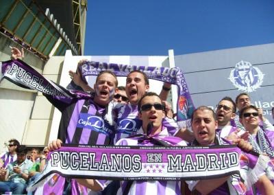 2010 - Partido contra el Getafe en Zorrilla