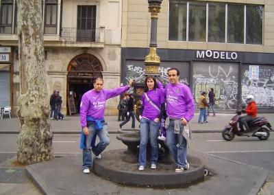 2010 - Fuente de Canaletas en Barcelona