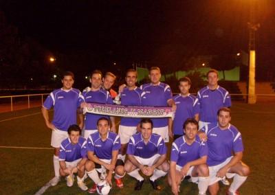 2010 - El equipo de la Peña en el Polideportivo de Palomeras