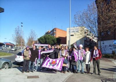 2011 - Camino al Estadio de Santo Domingo de Alcorcón