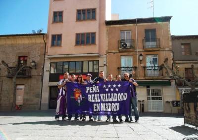 2012 - Por las calles de Soria antes del partido ante el Numancia