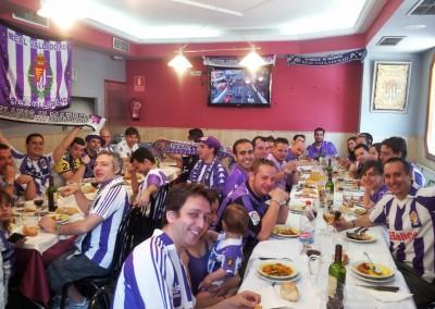 2012 - Comida en el Mesón Qachito de Alcorcón