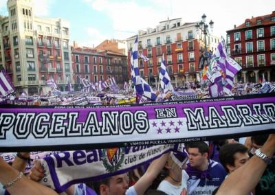 2012 - Celebraciones del ascenso en la Plaza Mayor