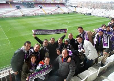 2013 - Partido matinal en el Estadio de Vallecas