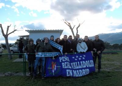 2014 - Apoyando al Dépor Mijares en el campo de Majaqueruela