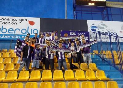 2014 - La Peña en el Estadio Santo Domingo de Alcorcón