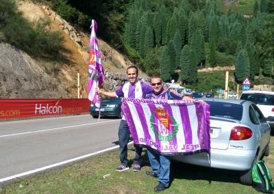 2015 - Vuelta a España tras el partido de Ponferrada