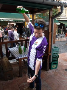 2016 - Escanciando en Oviedo
