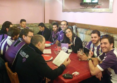 2016 - Dispuestos a desafiar el famoso cachopo asturiano en Oviedo