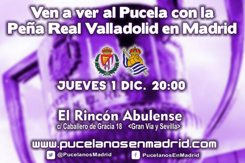 Retransmisión Pucela-Real Sociedad (ida Copa)