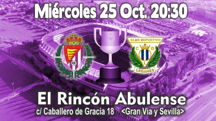 Retransmisión Real Valladolid-Leganés (Copa)