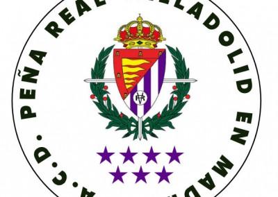 Escudo Peña Real Valladolid en Madrid