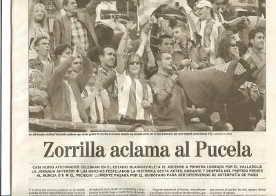 2007 - Partido en Zorrila  (El Mundo)