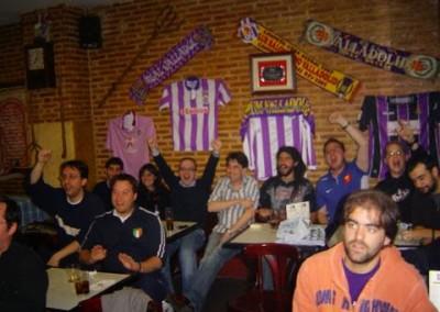 2007 - Partido del Pucela desde Madrid