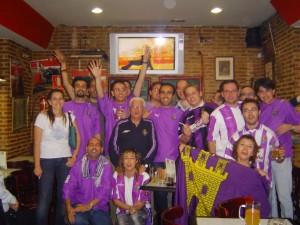 2007 - Celebrando el ascenso de Tenerife