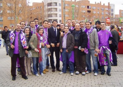 2008 - Con Caminero por las calles de Getafe