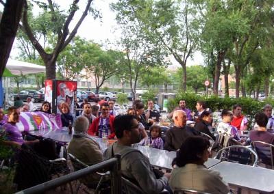 2011 - Partido de playoff en el Bar El Burgalés