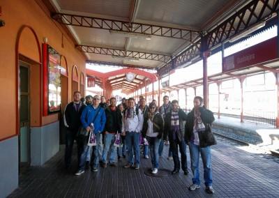 2012 - Desplazamiento a Guadalajara en tren de Cercanías