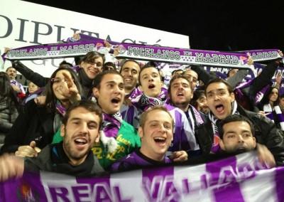 2012 - Exultantes tras la victoria en Guadalajara