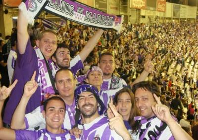 2012 - Celebrando el ascenso en Zorrilla