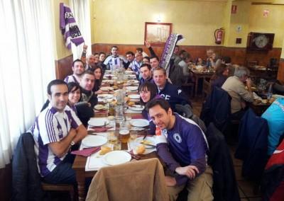 2013 - Celebrando la victoria en Vallecas