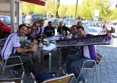 2014 - Desayunando en Albacete antes del partido matinal