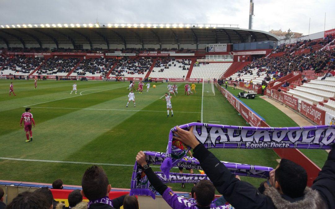 Crónica del Albacete-Pucela