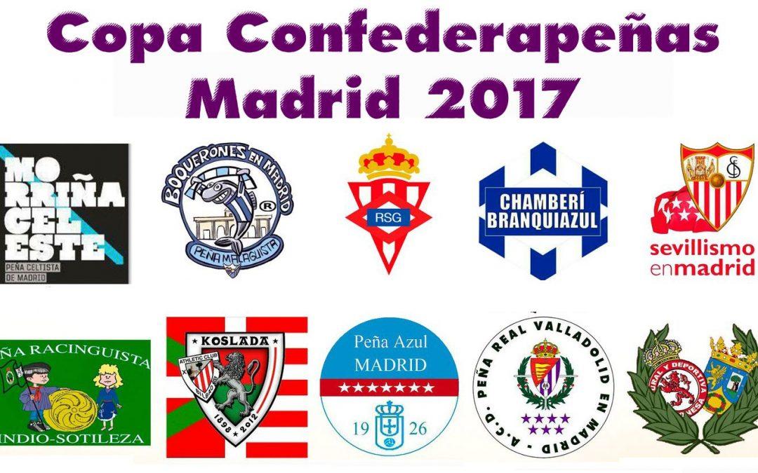 Participamos en la Copa Confederapeñas 2017